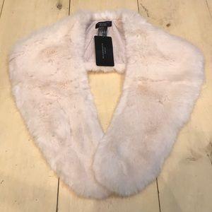 Zara Faux Fur Shawl Size M